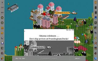 Screenshot of OpenTTD