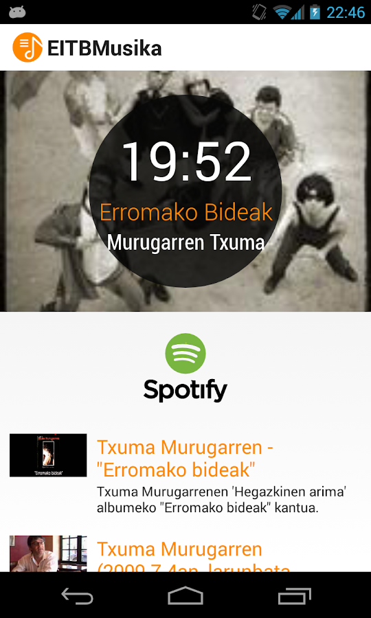 EITBMusika- screenshot