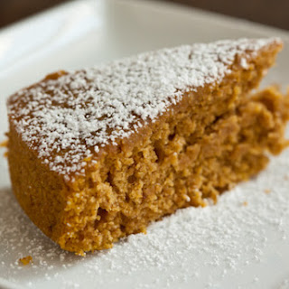 Pumpkin Maple Sourdough Cake.