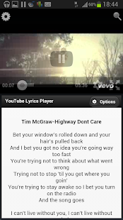 Lyrics4Tube - Lyrics Player - screenshot thumbnail