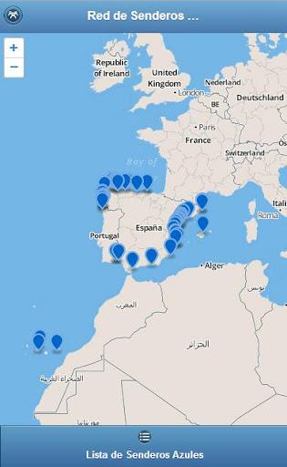 Red de Senderos Azules