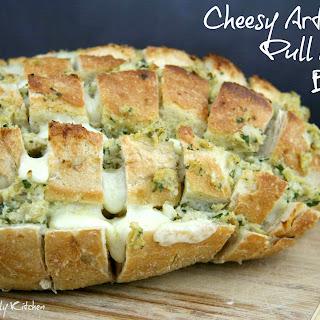 Cheesy Artichoke Pull Apart Bread