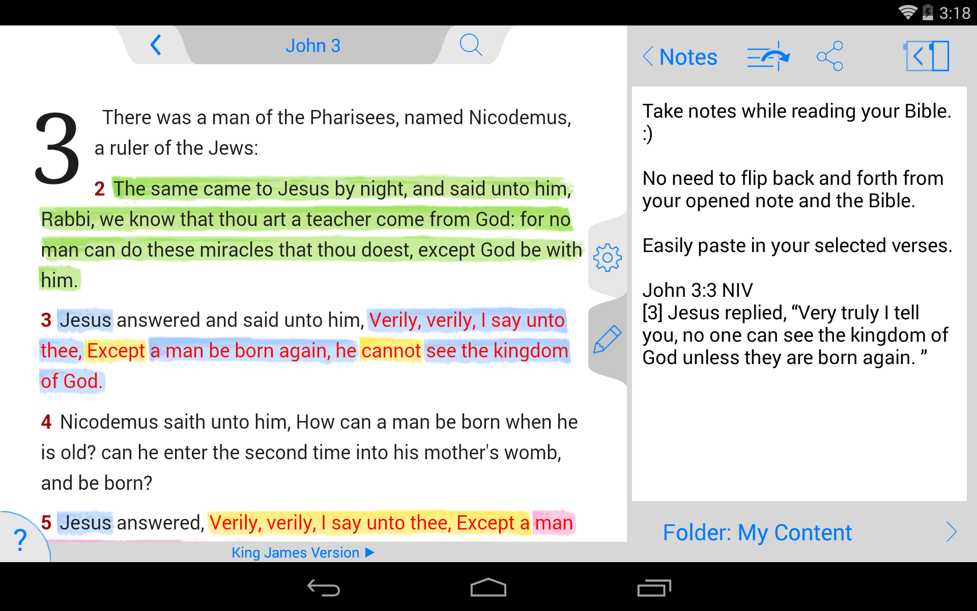 NKJV Bible screenshot #22