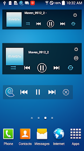 MAVEN Music Player (3D Sound)- screenshot thumbnail
