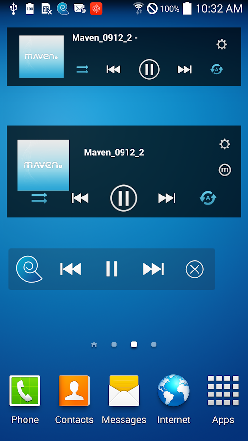 MAVEN Music Player (3D Sound)- screenshot