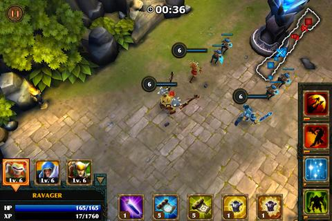 Legendary Heroes - screenshot