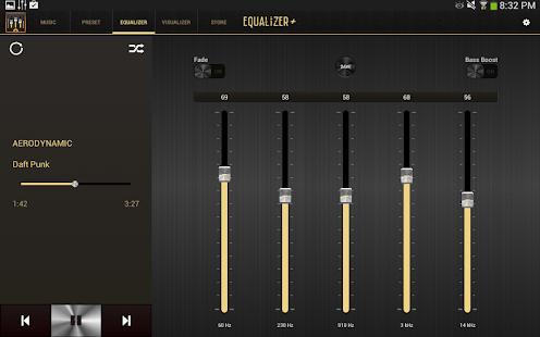 均衡器+ mp3播放器增强工具 Music Player