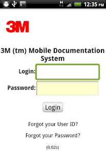 3M Mobile Documentation System - screenshot thumbnail