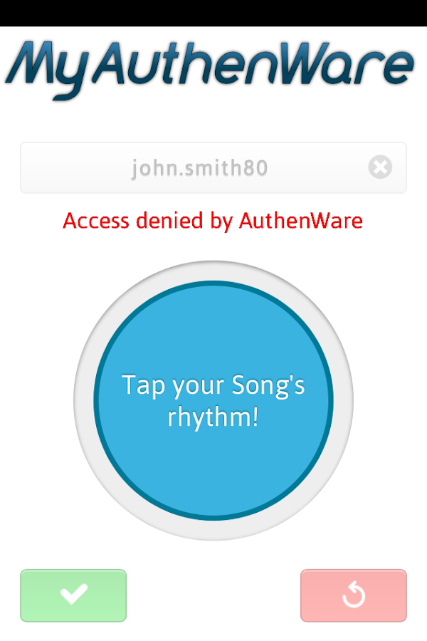 MyAuthenWare Lite- screenshot