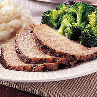 Pork Roast With The World's Best Pork Loin Rub.