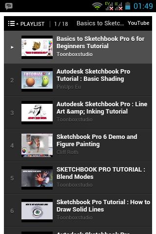 玩免費書籍APP 下載Sketchbook Pro Tutorial app不用錢 硬是要APP