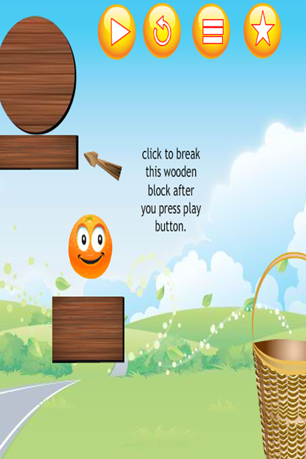 Orange in Basket - screenshot