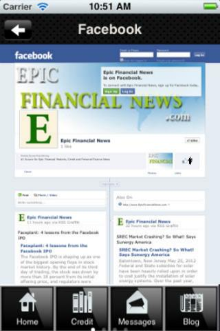 Epic Credit Financial - screenshot