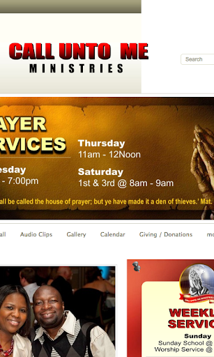 Call Unto Me Ministries