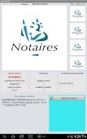 Screenshot of iNotarial