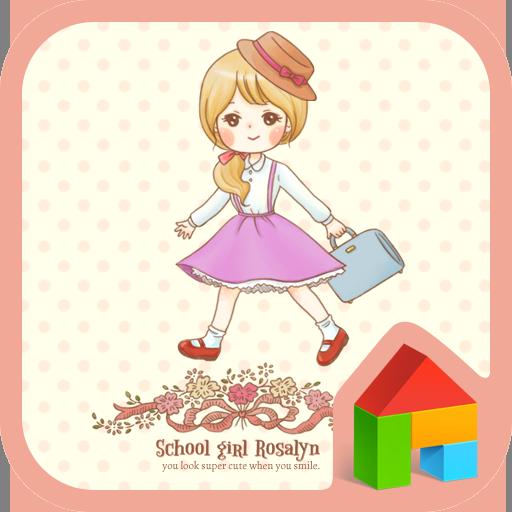 Schoolgirl Rosalyn Dodol Theme 個人化 App LOGO-APP試玩