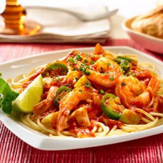 Mexican Shrimp Marinara.