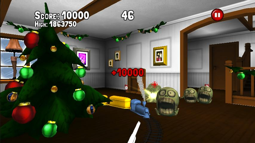 A XMas Game WITH ZOMBIES!- screenshot