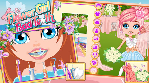 FLOWER GIRL BAD TEETH