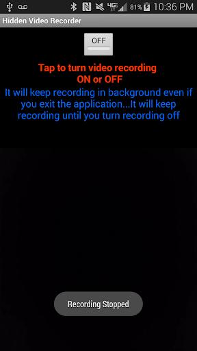 Hidden Video Recorder