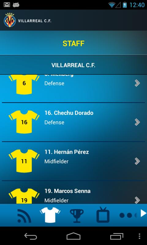 Villarreal C.F. - screenshot