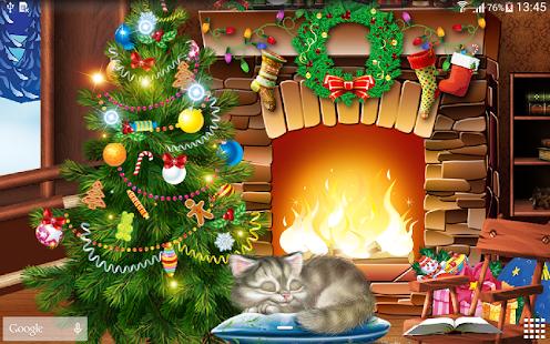 Christmas Tree Wallpaper Animated