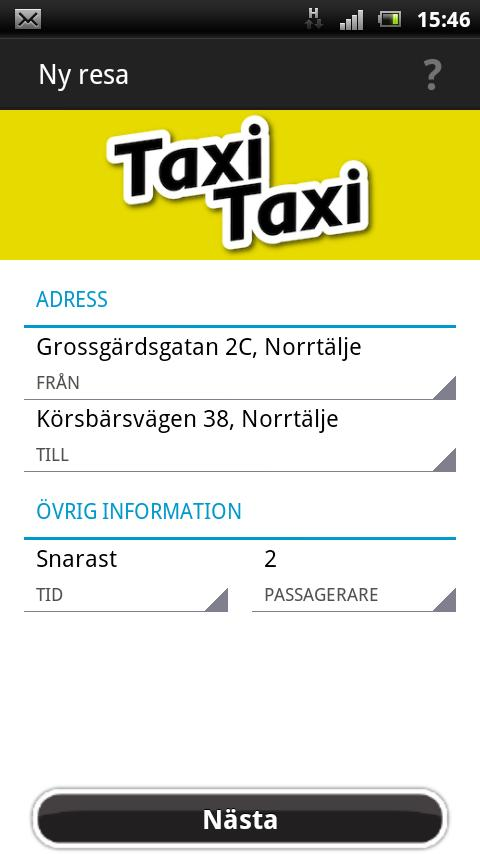 TaxiTaxi - screenshot