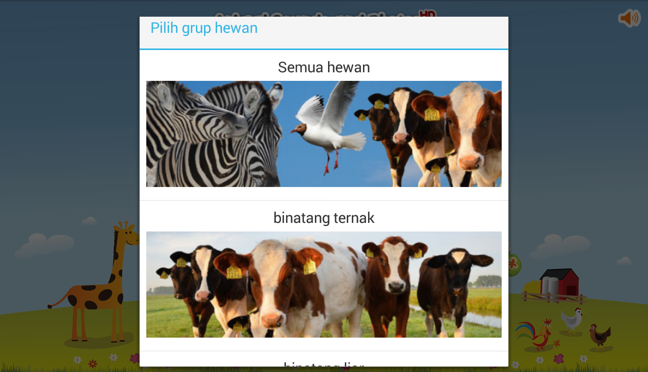 Suara Binatang Apl Android Di Google Play