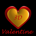 Valentines 3D Free Wallpaper icon