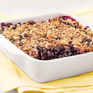 Pole Position Blueberry Crisp.