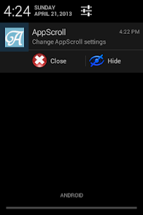 AppScroll Sidebar Lite - screenshot thumbnail
