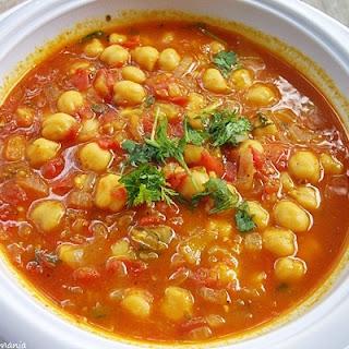 Hasa Al Hummus (Moroccan Chickpea Soup).