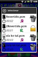 Screenshot of Revertido