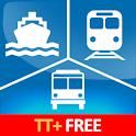 TransitTimes+ Free logo
