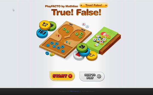 PlayFACTO True False