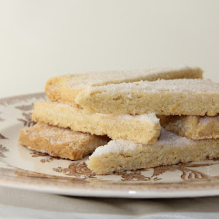 Lemon Shortbread Cookies.