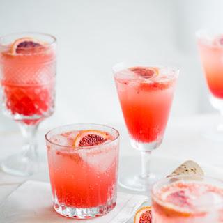 Blood Orange Gin and Tonic.