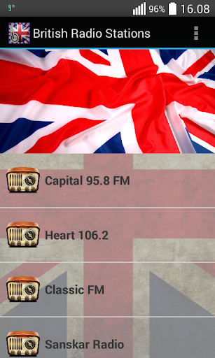 British Radio Stations