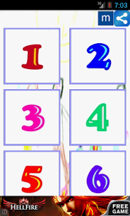 Learn the numbers in Russian.- screenshot thumbnail