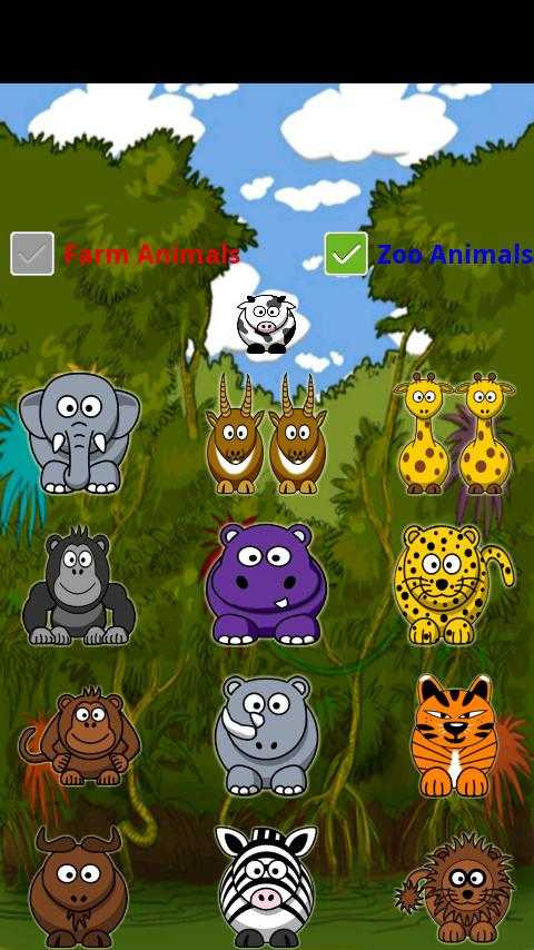 Animal Farm and Zoo Sounds (Android) reviews at Android