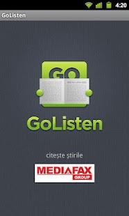 GoListen- screenshot thumbnail
