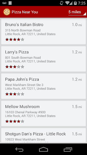 Pizza Near You