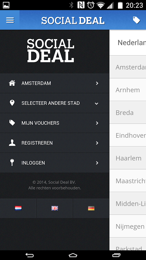 Social Deal - screenshot
