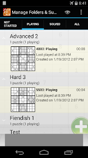 Sudoku 10'000 - screenshot thumbnail