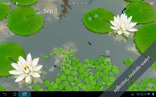 3D Lotus Live Wallpaper - screenshot thumbnail