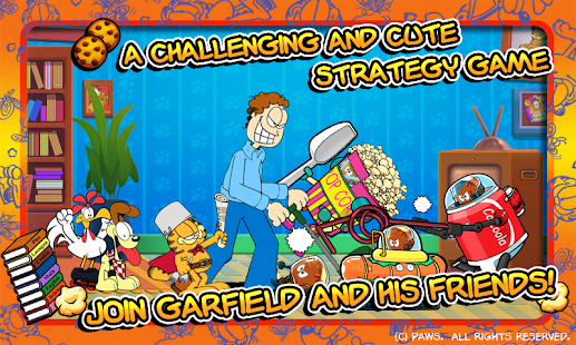 Garfield's Defense- screenshot thumbnail