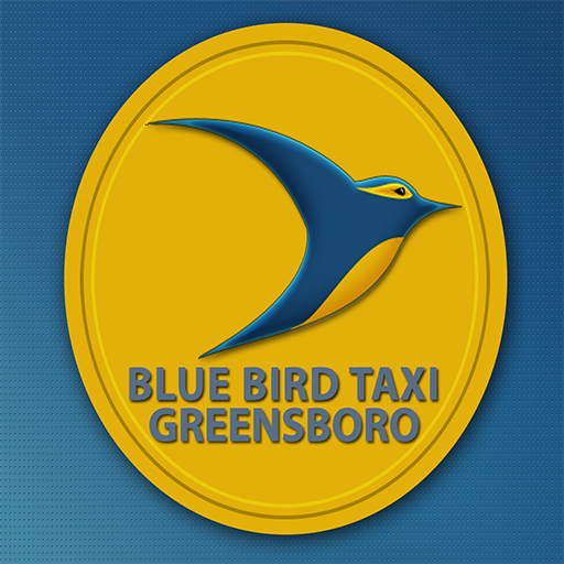 BLUE BIRD TAXI LOGO-APP點子
