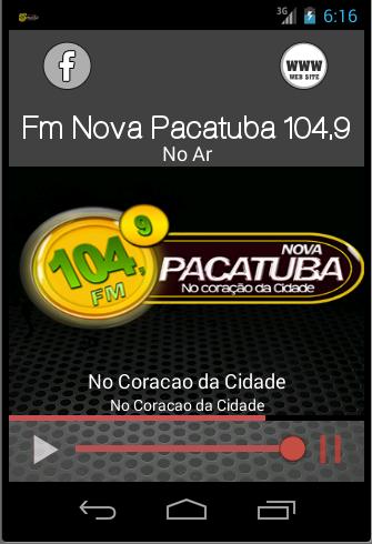 FM Nova Pacatuba 104 9