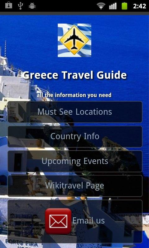 Greece Travel Guide - screenshot