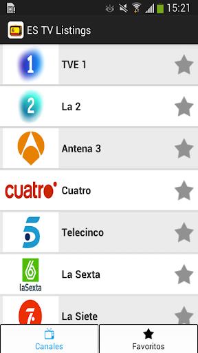 Programación Televisión España